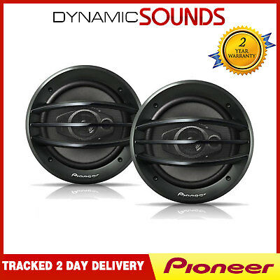 "Pioneer TS-A2013I 20cm 200mm 8"" Inch 500 Watt 3 Way Coaxial Car Speakers"