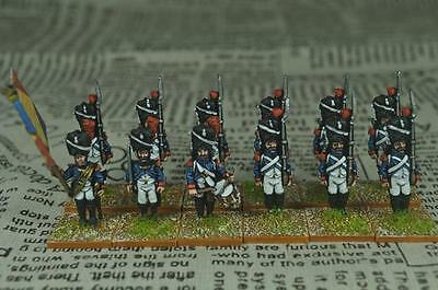28mm Napoleonic painted French Infantry Grenadiers FN09