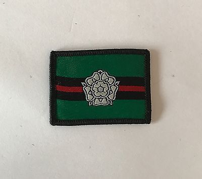 Yorkshire Regiment TRF Badge, Yorks Army Military MTP Patch, Hook & Loop Option