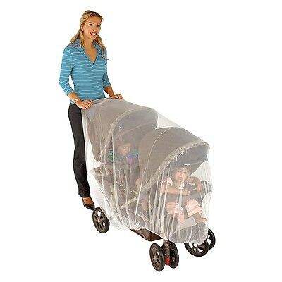 Nuby Double Stroller Netting