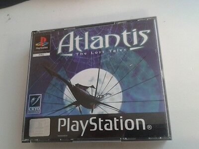 * Sony Playstation One Game * ATLANTIS - THE LOST TALES  * PS1