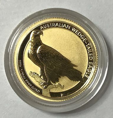 2016 Australian Wedge-Tailed Eagle 1/10th .9999  Gold Bullion Coin