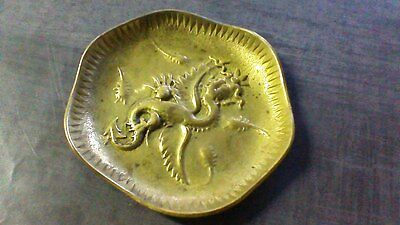 Vide Poche Ancien en Bronze, Dragon . Asiatique