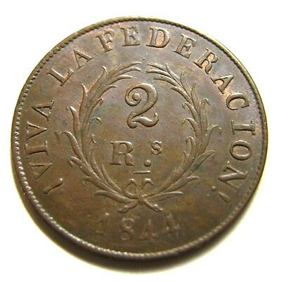 elf Argentina Buenos Aires 2 Reales  1844