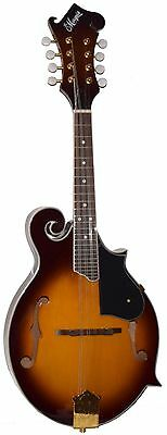 "New Lemarquis Mf-2000 Vintage Sunburst ""f"" Style  Mandolin With Free Gig Bag"