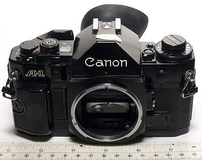 Canon A1 Body only 35mm Film SLR Mint