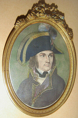 PORTRAIT MINIATURE du GENERAL JOUBERT chef de l'Armée d'Italie - EMPIRE