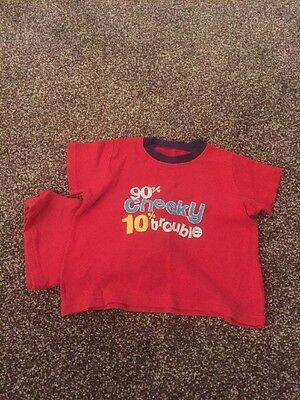 George 18/24 Months Fantastic Boys Shortie Pyjamas With Design