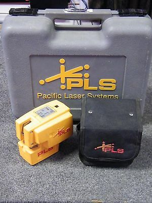 Pacific Laser Systems PLS4 Point and Line Laser with Hard Shell Case