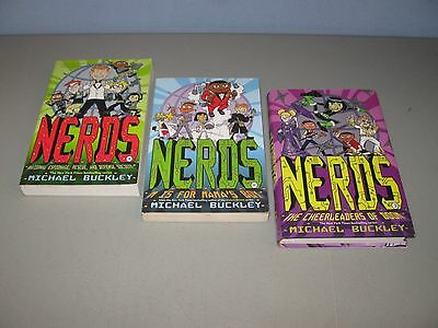 Lot Of 3 Nerds books)))Mix 1-3 / by Michael Buckley