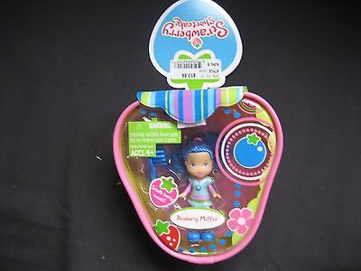 Strawberry Shortcake BLUEBERRY MUFFIN DOLL  Smells Berry Sweet  Brand New