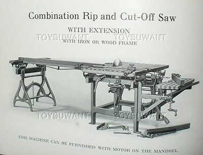 Vintage Sawing Machinery Beach Manufacturing Montrose Pa Sawmill Tool Shop Bklt