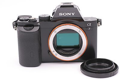 Sony Alpha a7 24.3 MP Digital Camera - Black (Body Only) - Shutter Count: 5967