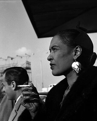 "Billie Holiday 10"" x 8"" Photograph no 17"