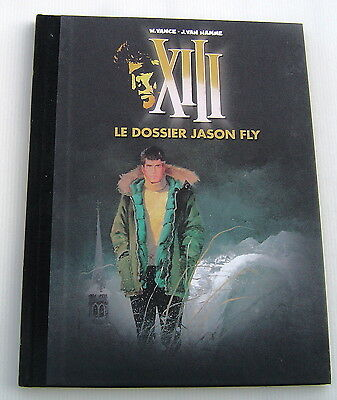 XIII (LE FIGARO) .  6 . Le dossier Jason Fly . VANCE ,  VAN HAMME . BD DARGAUD