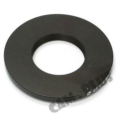 55-28mm Step-Down Metal Lens Adapter Filter Ring / 55mm Lens To 28mm Accessory