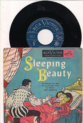 VINTAGE Sleeping Beauty 45 rpm Record--RCA VICTOR