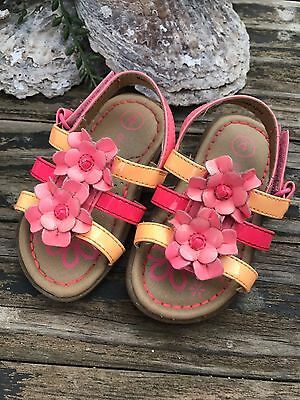 Girl's Genuine Kids Sandals, Toddler Size 4