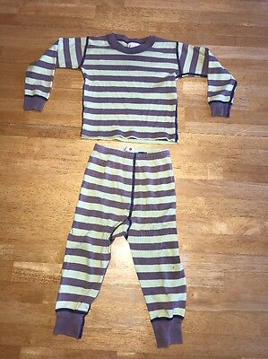 Hanna Andersson 80 Striped Pajamas 18-24 Months