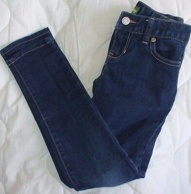 Sz 7 Super Skinny Old Navy Jeans Girls inside adjustable elastic waistband