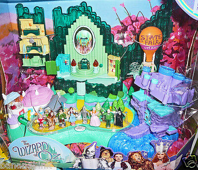 NEW Wizard of Oz Light Up Emerald City Miniature Playset Figures Polly 2001