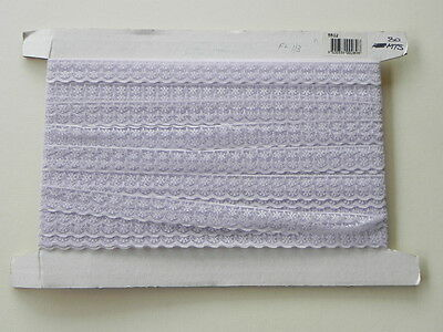 Card of New Lace - Lilac Double Floral