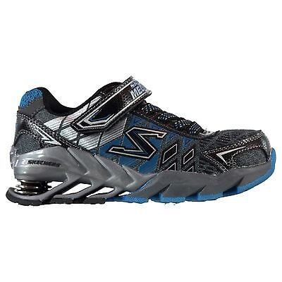 Skechers Kids Mega Blade Boys Running Shoes Touch and Close Runners Training