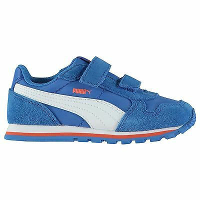 Puma Kids ST Runner NL Infant Trainers Shoes Padded Ankle Hook and Loop Boys