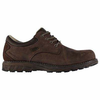 Karrimor Mens Gorge WTX Walking Lace Up Shoes Stitched Detailing Waterproof