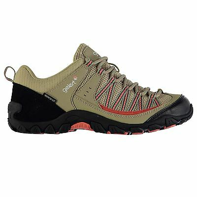 Gelert Womens Rocky Waterproof Walking Shoes Lightweight Breathable Lace Up