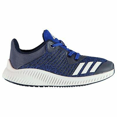 adidas Kids Forta Run Boys Trainers Lace Up Shoes Ortholite Breathable
