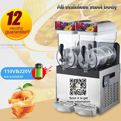 commerical stainless steel CE approved frozen smoothie maker,slushy machine