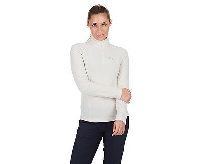 Jack Wolfskin Women's Gecko Fleece Jumper - White Sand