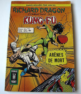 Richard Dragon . N° 4 . Artima . Comics Pocket . 1976