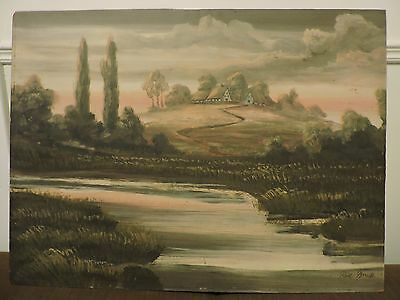 Unframed Original Painting signed by artist