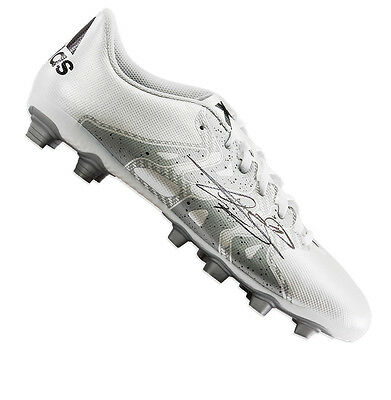 Gareth Bale Signed Football Boot - White Adidas X 15.4 Autograph Cleat