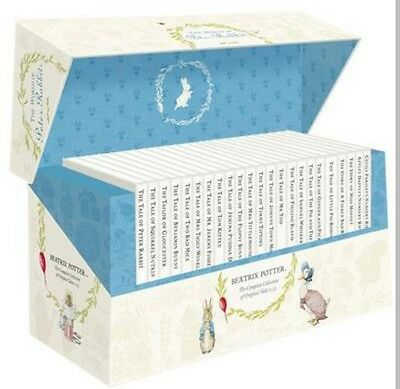 Beatrix potter complete collection books boxed set brand new