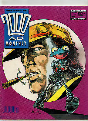 2000 Ad Monthly Number 52 January 1990