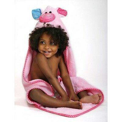 Zoocchini Baby Towel - Pinky the Piglet