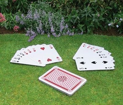 New Giant a3 playing cards Full Deck 37cm x 26.5cm play Your Crdas Right