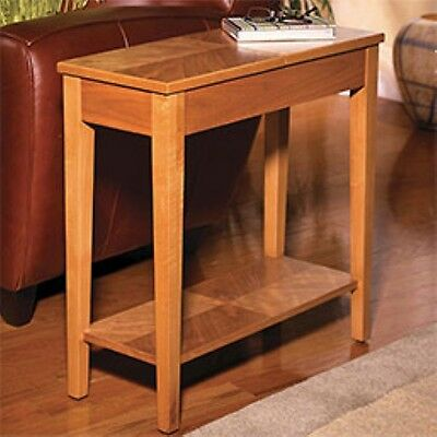 Levenger No-Room-For-A-Table Table- Natural Cherry