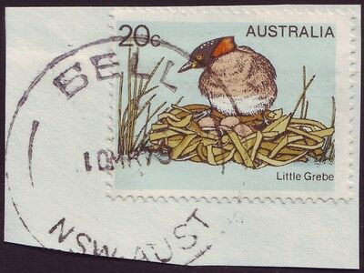 """Nsw Postmark """"bell"""" Postmark Dated 1979 Po And To 1979 (A7007P)"""
