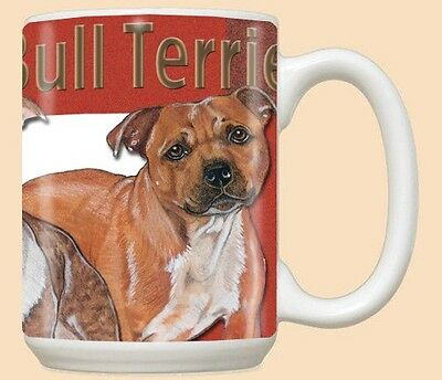15 oz. Ceramic Mug (PS) - Staffordshire Bull Terrier MU512