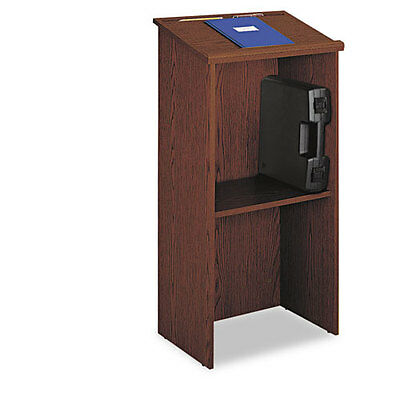 Safeco Stand-Up Lectern, 23w x 15-3/4d x 46h, Cherry, EA - SAF8915CY