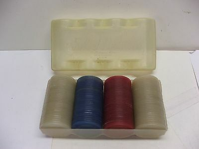 Super Cool Tupper Ware Silent Partner Pocker Chips Millionaire Line Full Set