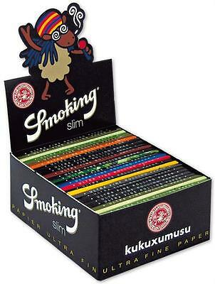 Smoking KUKUXUMUSU King Size KS Papers KUKU Zigarettenpapier Box SMK Rolling