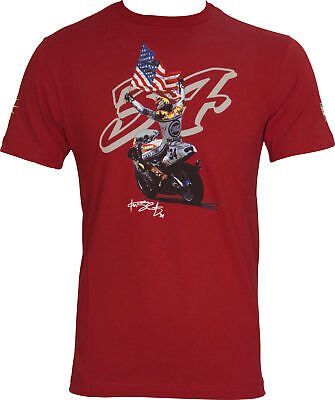 VR46 Kevin Schwantz 34 MotoGP Mens Top - Red