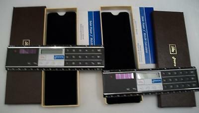 Lot of 2 Brand NEW Solar Power RULER CALCULATORS Lilly Doista in BOX