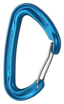 Wildcountry Wildwire One Size Blue Mosquetones