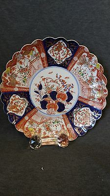 Antique Chinese Imari Porcelain Charger